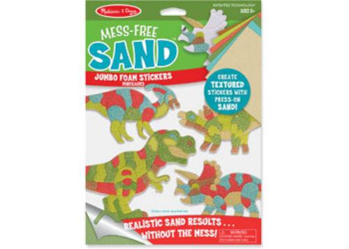 Melissa & Doug - Mess-Free Sand -Foam Stickers- Dinosaurs