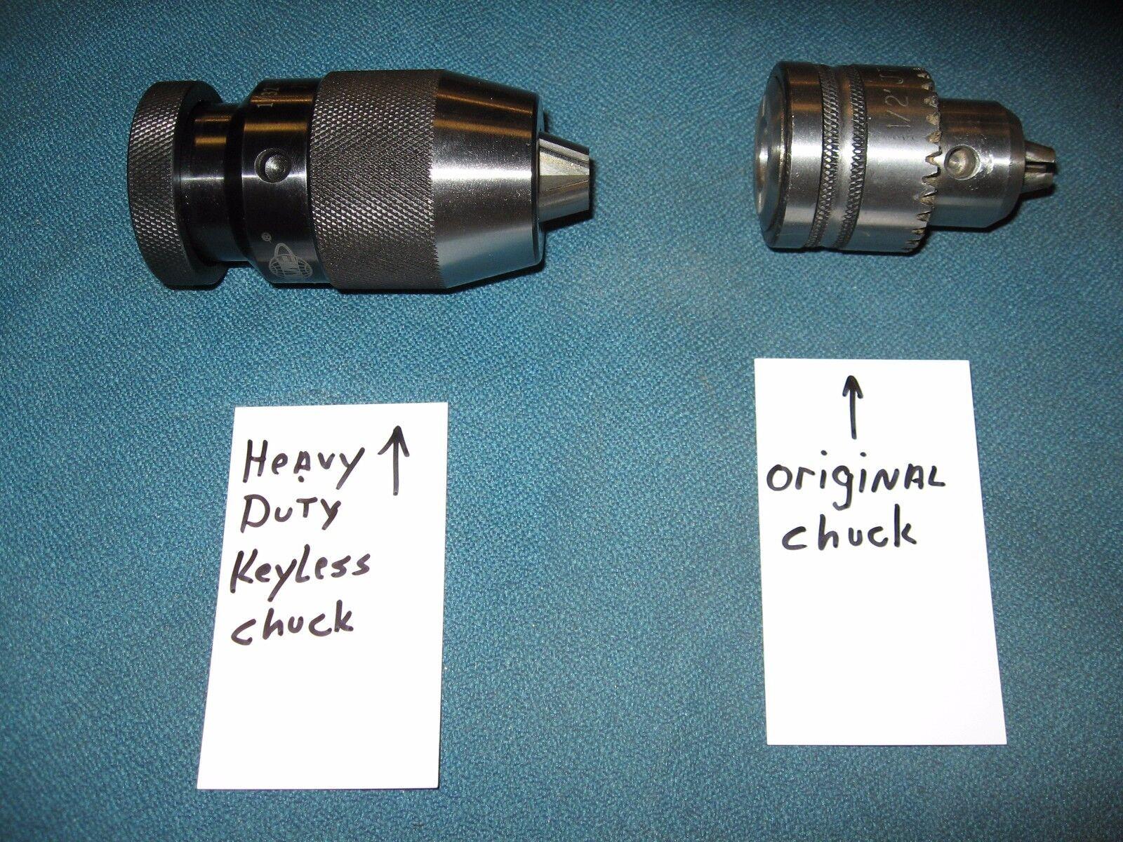 Heavy Duty 1.3cm Schlüssel Weniger Bohrfutter Upgrade Ersetzt Ryobi Dp102l
