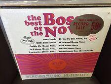 The TIDES The Best of the Bossa Nova vinyl LP VG+ Mercury/WING in SHRINK