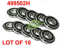 Ten 499502h Sealed Wheel Bearings With Snap Ring Size 58 Id X 1 38 Od