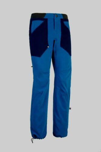 E9 Ananas  2-farbige Kletterhose für Herren  cobalt blue  Größe XL