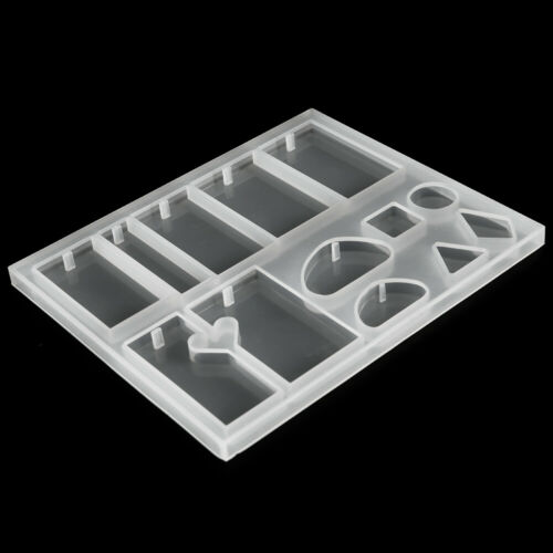 83X DIY Resin Casting Mold Tool Kits Silicone Making Jewelry Pendant Mould Sets