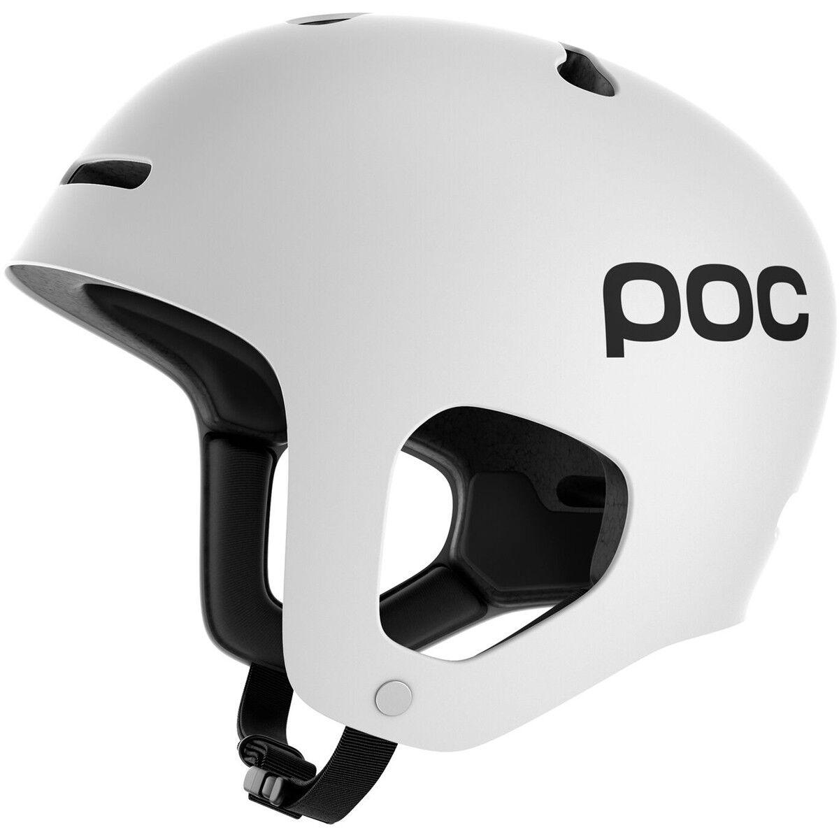 Poc Auric Snow Ski Skiing Helmet Hydrogen White Medium Large M L 55 58 cm