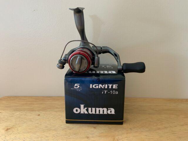 New Okuma Ignite A-Series 5.0:1 Spinning Fishing Reel IT-35A
