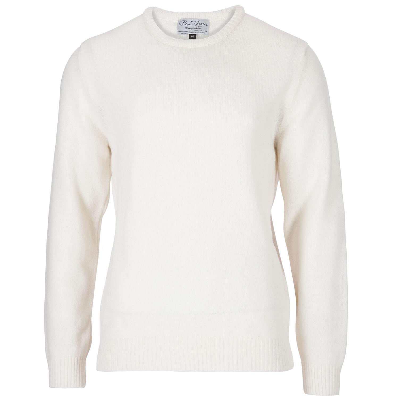 Archer - 100% Pure Lambswool -  Herren Ecru Jumper Sweater - Made in England