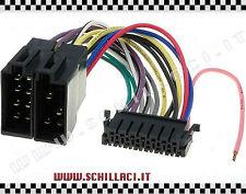 Connettore adattatore ISO autoradio JVC 13 PIN KD KS RT 404 KS RT 600 KS RT 70/