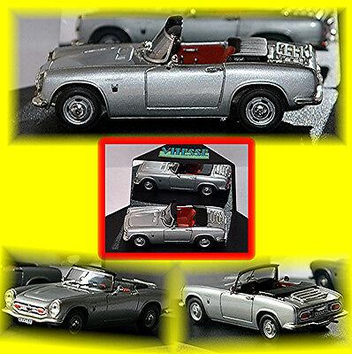 Cars Toys, Hobbies Honda S 800 Cabriolet 1966-70 Silver Metallic 1:43 Yet Not Vulgar