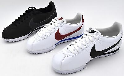 NIKE MAN WOMAN UNISEX SNEAKER SHOES CASUAL FREE TIME CODE CLASSIC CORTEZ  LEATHER | eBay