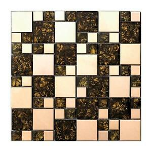 glass mosaic tile kitchen backsplash bathroom decorative wall tile