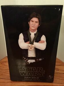 New-Star-Wars-Han-Solo-Hero-of-Yavin-Bust-Gentle-Giant-Studios-479-out-of-2500
