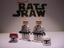 Lego Star Wars minifigures - Clone Custom Troopers - RISHI Medalled 5s & Echo