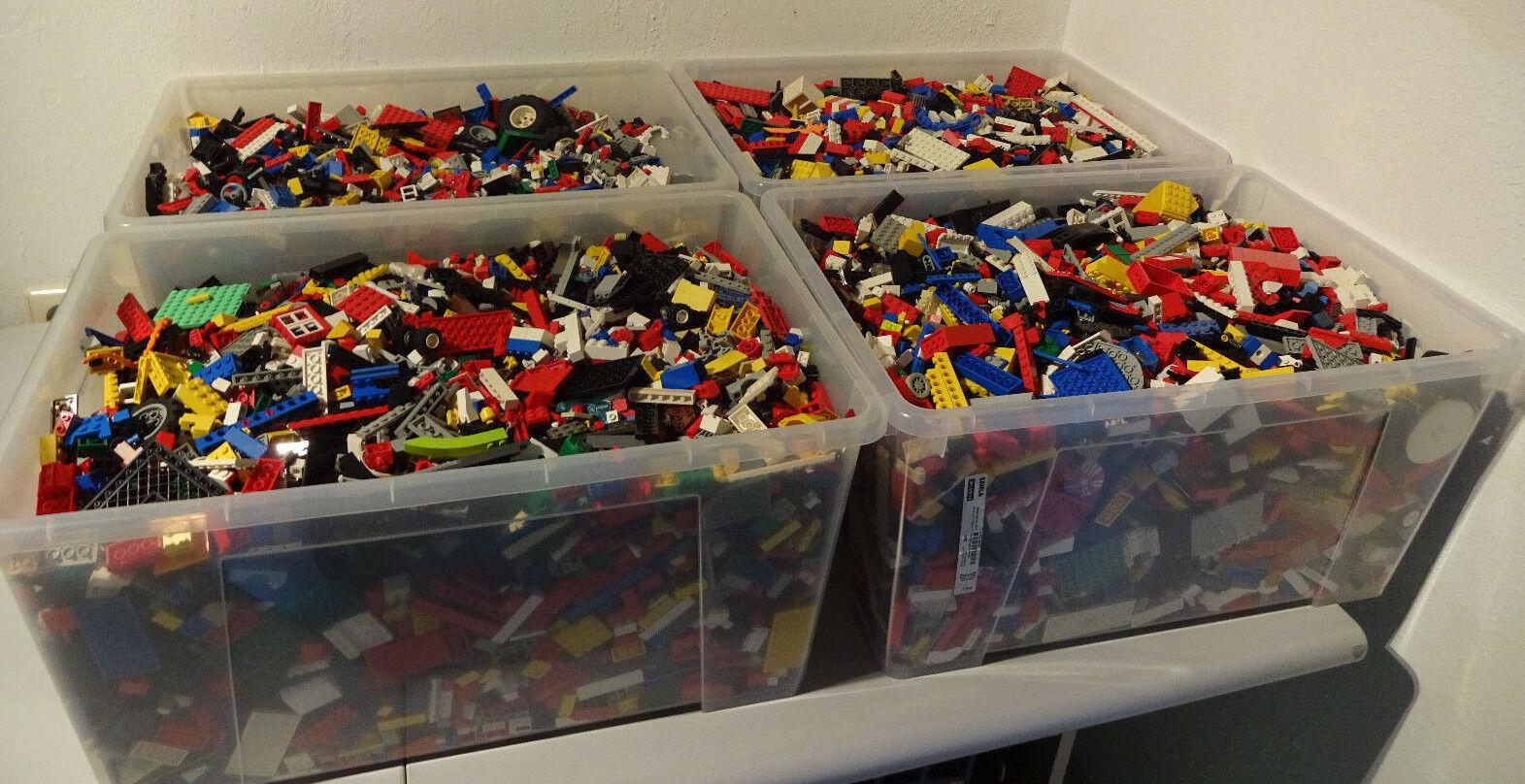 (HK) LEGO 1 KG KILOWARE STEINE PLATTEN RÄDER SONDERSTEINE GEMISCHT GEBRAUCHT