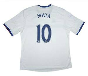 Chelsea-2013-14-Authentic-AWAY-SHIRT-Mata-10-eccellente-XL-soccer-jersey