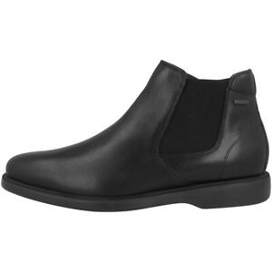 GEOX U Brayden 2Fit ABX B Schuhe Men Stefeletten Leder Boots U64N1B00043C9999