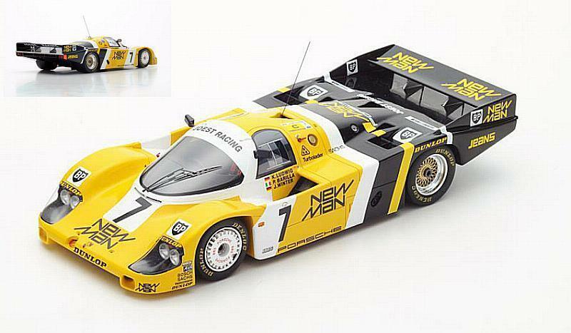 Porsche 956 Winner Le Mans 1985 Ludwig - Winter -Barilla 1 18 SPARK 18LM85