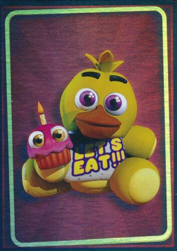 FIVE NIGHTS AT FREDDY/'S TRADING CARDS FOIL SINGLE #108