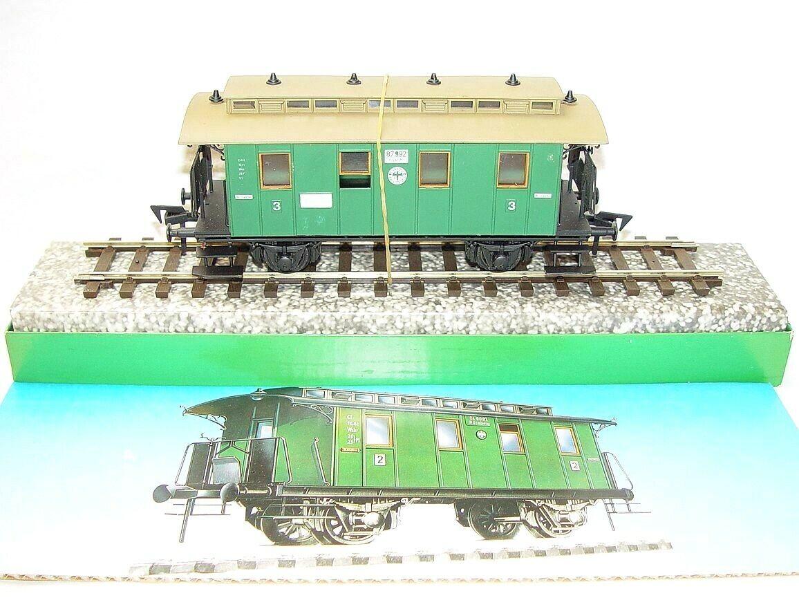 RAI-mo Rail Modelo DC o calibre Deutsche Reichsbahn 3-Clase De Pasajeros Vagón MIB`80