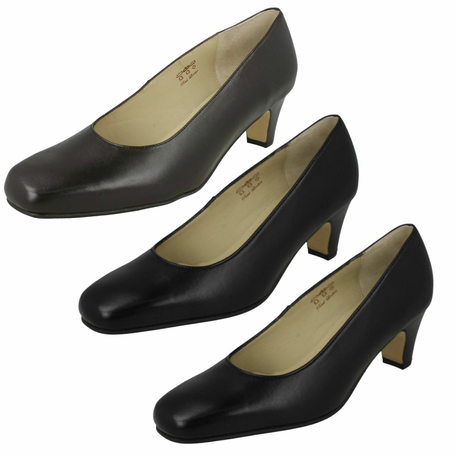Ladies Equity Wide Fitting Court shoes 'Valerie'