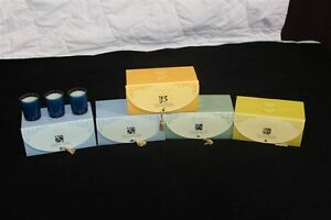 Lot of 15 Berger Parfums Bougies Scented Candles 3 Per Box, New in the Boxes