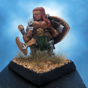 Painted-Reaper-Miniature-Freja-Female-Dwarf-Fighter