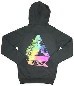 74c36865c11f Chargement de l image Palace-039-Tri-Smudge-039-Black-Sweatshirt-Hoodie
