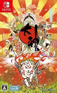 NEW-Nintendo-Switch-OKAMI-Zekkeiban-HD-Remaster-CAPCOM-JAPAN-OFFICIAL-IMPORT
