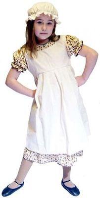 Peter Pan-Victorian-Edwardian WENDY WHITE NIGHTDRESS /& MOP CAP All Sizes