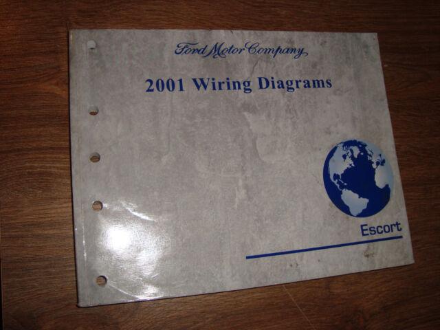 2001 Ford Escort Wiring Diagrams Manual Mwi