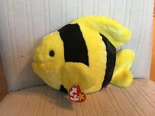 TY Adorable Fish BUBBLES 1998 Beanie Buddy Plush