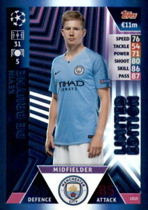 Champions-League-18-19-Karte-LE15-Kevin-De-Bruyne-Limited-Edition-Super-Squad