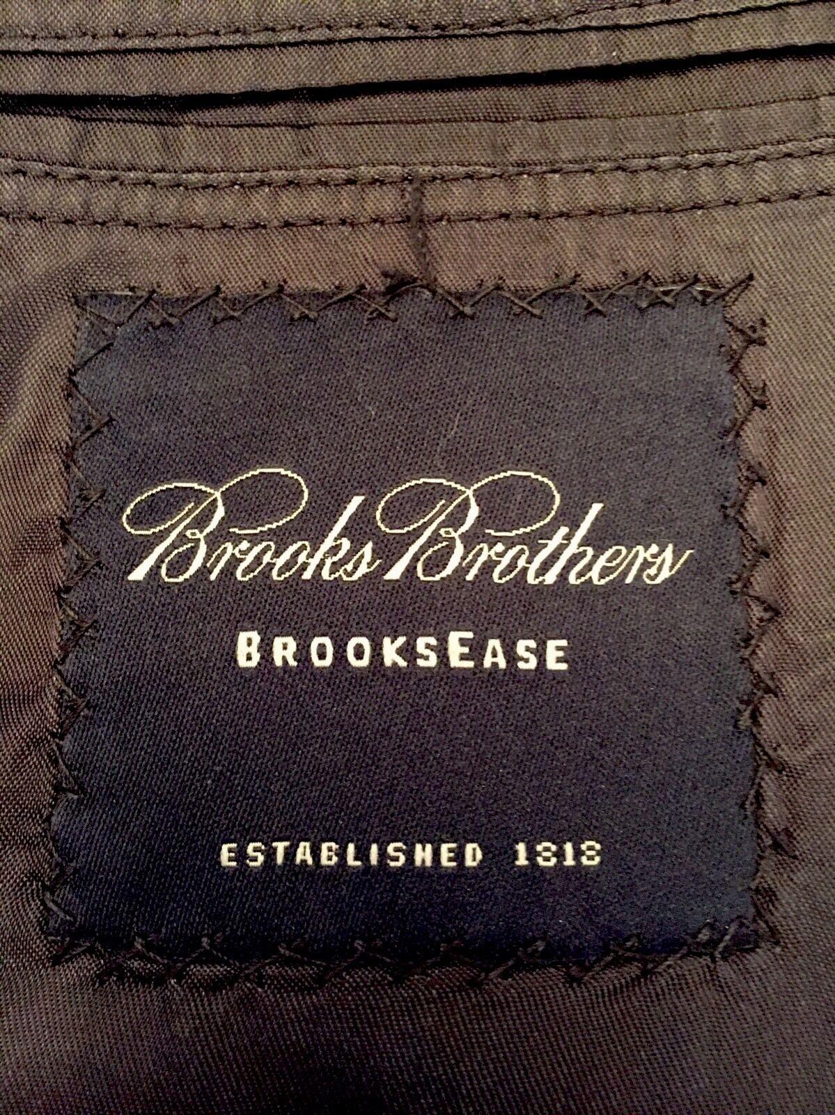 Brooks Brothers Uomo Navy blu 2 Btn Blazer 42 Sz. 42 Blazer 43 44 L MINT  c54a21