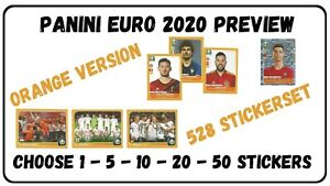 PANINI-EURO-2020-PREVIEW-CHOOSE-YOUR-STICKERS-FROM-LIST-528-sticker-set