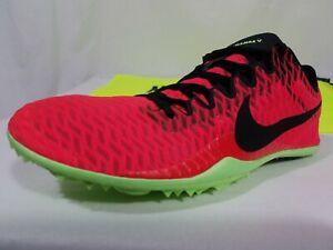 creer Descarga Socialista  Nike Mamba V Distance Size 4-6 Men's Red Volt Track & Field Spikes ...