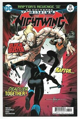 DC Comics NIGHTWING #33 first printing cover B