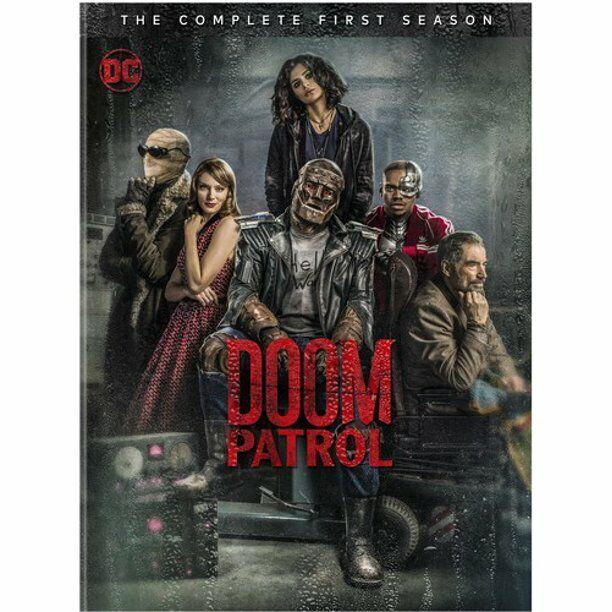 Dc Doom Patrol Tv Series Complete 1st First Season 1 One 3 Disc Dvd Set For Sale Online Ebay