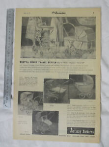 Baby-Pram-Full-Page-Advertisement-from-1951-Newspaper-Steelcraft-Stork-Cyclops