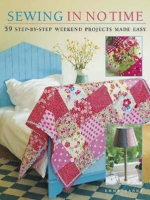 Sewing in No Time, Hardy, Emma Paperback Book