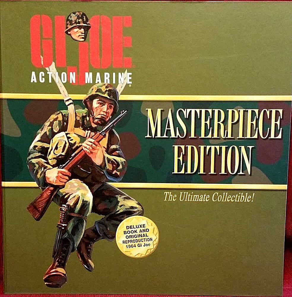 GI Joe Masterpiece Edition Action Marine Figure Set New 1996