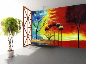 3d Beaux Arbres 992 Photo Papier Peint En Autocollant Murale Plafond Chambre Art Luq4dheu-08011418-935204113