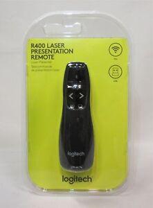 Logitech-r400-Wireless-Presenter-noir-Neuf-amp-neuf-dans-sa-boite