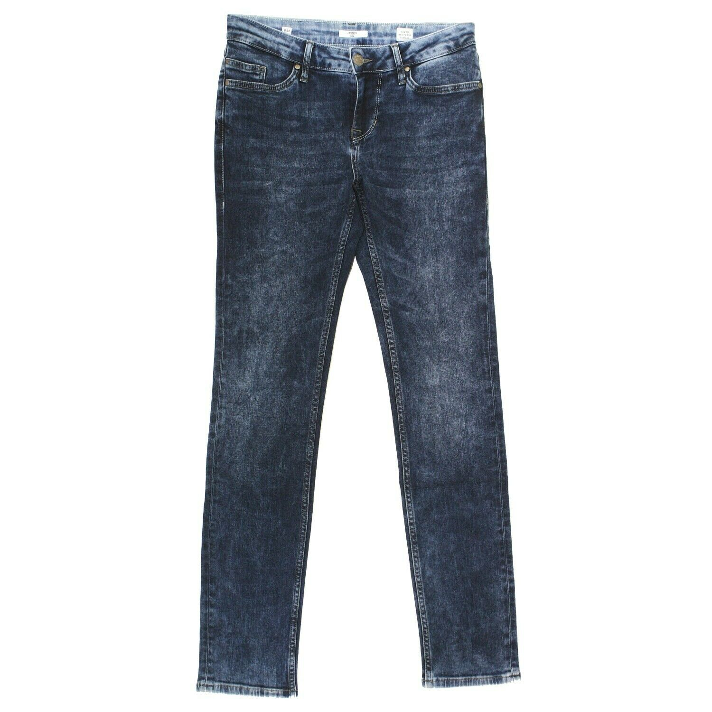 MUSTANG Damen Jeans Hose JASMIN SLIM Stretch darkblue acid blau 19647