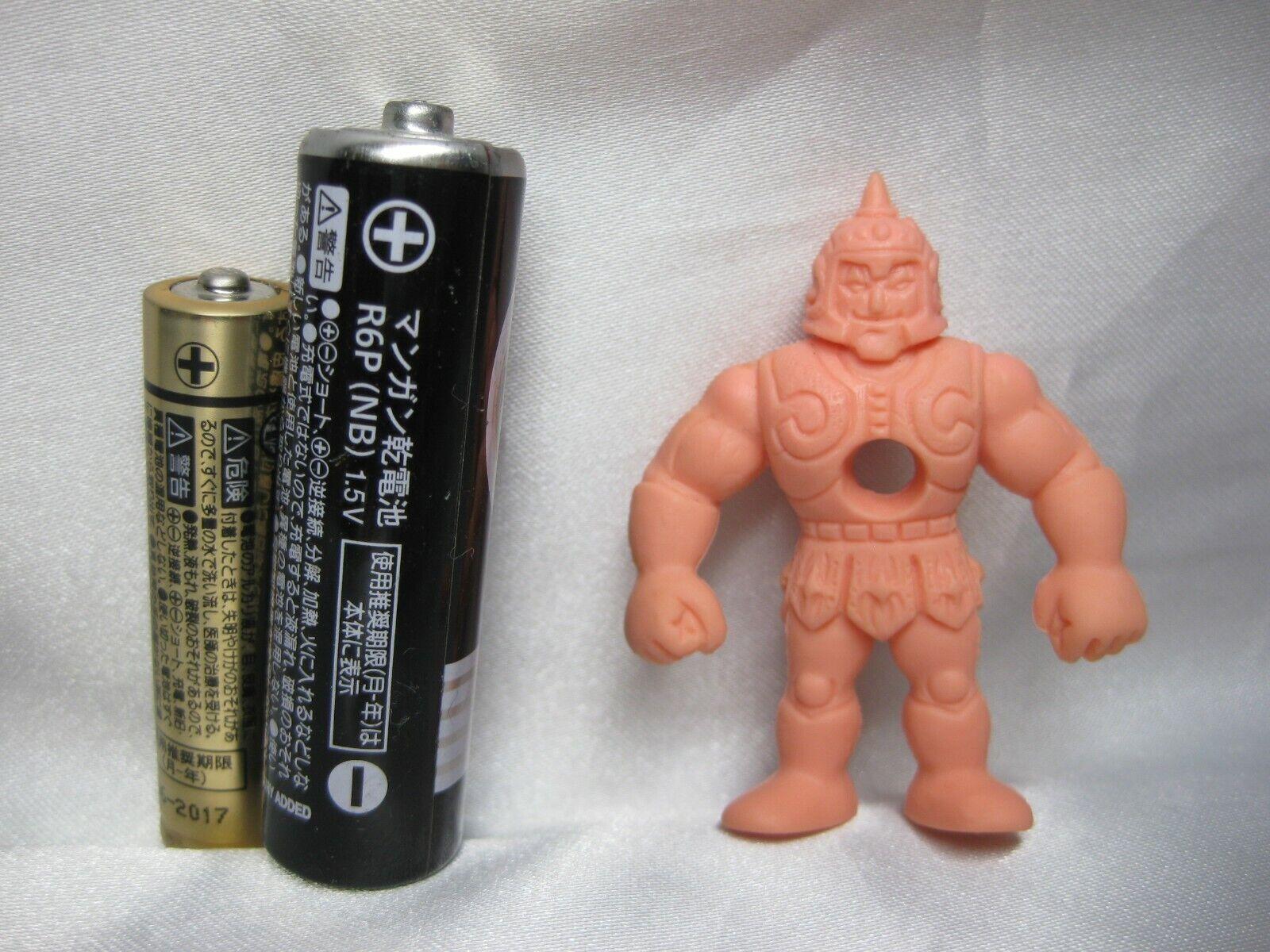Kinnikuman Rubber Keshi Kinkeshi  SATAN CROSS B Figure 1985 M.U.S.C.L.E. men