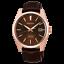 Seiko-JAPAN-Made-Presage-Sharp-Edged-Series-Susutake-Brown-Men-039-s-Watch thumbnail 1