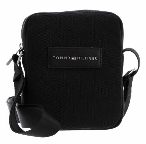 TOMMY HILFIGER Uptown Nylon Mini Reporter Umhängetasche Tasche Black 660-910