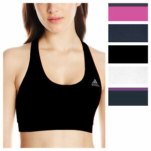 adidas Women's TechFit Climalite Sports Bra Athletic Training Running Bralette