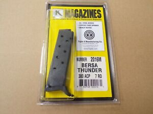 Bersa-Thunder-380-acp-magazine-by-Triple-K-Model-2016
