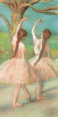 Dancers in Pink Degas - CANVAS OR PRINT WALL ART