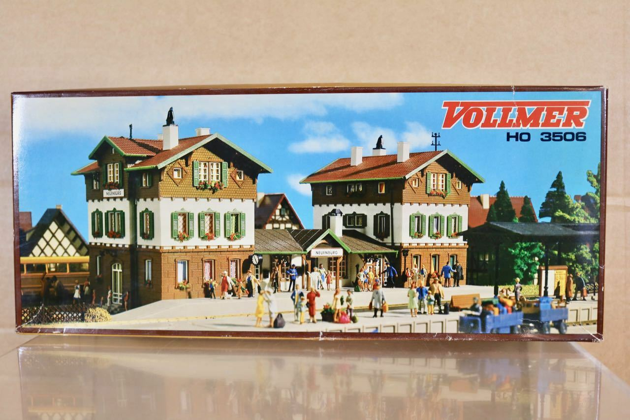 Vollmer 3506 Ho Escala Db Neuenberg Central Station Bahnhof Kit de Modelismo Nq