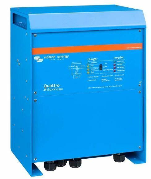 Quattro 48/5000/70-100/100 230V VE.Bus (QUA485021010)