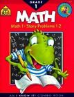 Math 1 Combo Book by B Gregorich, J Hoffman, School Zone Publishing (Paperback / softback, 1997)